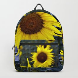 Sunflower Poetry Backpack