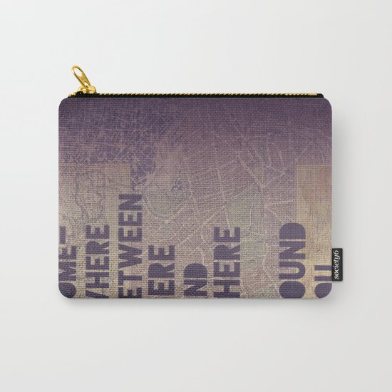 Here & There Carry-All Pouch