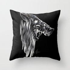 Pig Head Throw Pillow