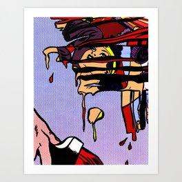 Roy Paints the Golden Age Art Print