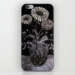 Flowers From Within. iPhone Skin