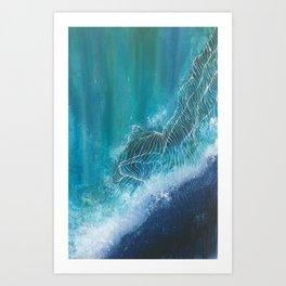 Enchanting Waves Art Print