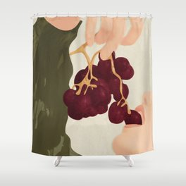 Hold me in the Present Shower Curtain