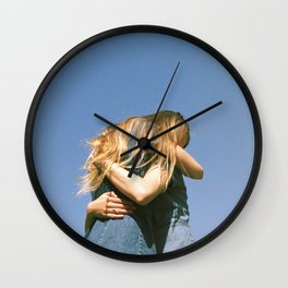 Lily and Chase Wall Clock