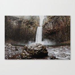 Abiqua Falls Canvas Print