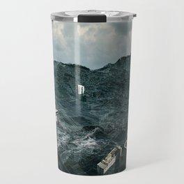 Survival of the tallest Travel Mug