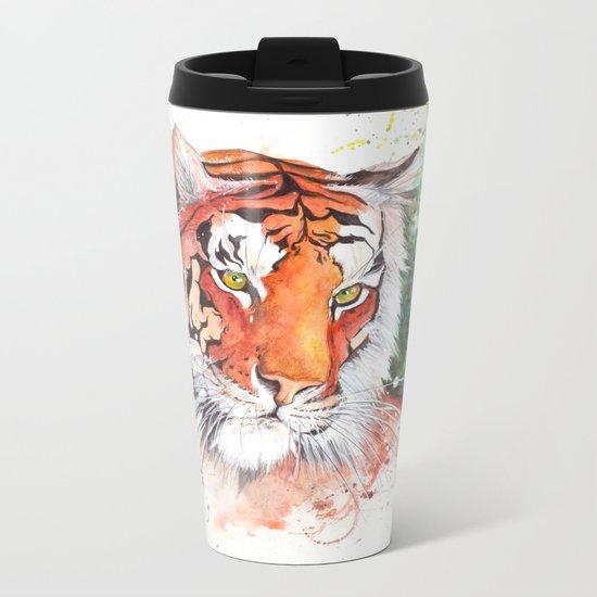 Tiger | Metal Travel Mug