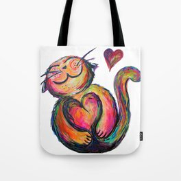 Love Chub Chubbycat Tote Bag