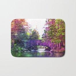 Rainbow Bridge Bath Mat