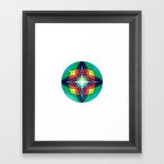 Chromasphere Framed Art Print