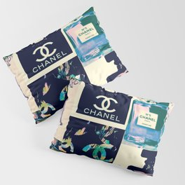 CC No.5 Fashion Collage Pillow Sham