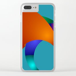 dreams of color -22- Clear iPhone Case