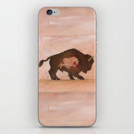 Heart of the Buffalo iPhone Skin