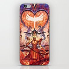 Twisted Lovers iPhone & iPod Skin