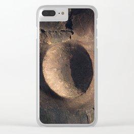 Terrestrial scar Clear iPhone Case