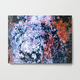 Marble Beauty Metal Print