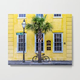 Historic King Street, Charleston, South Carolina Metal Print