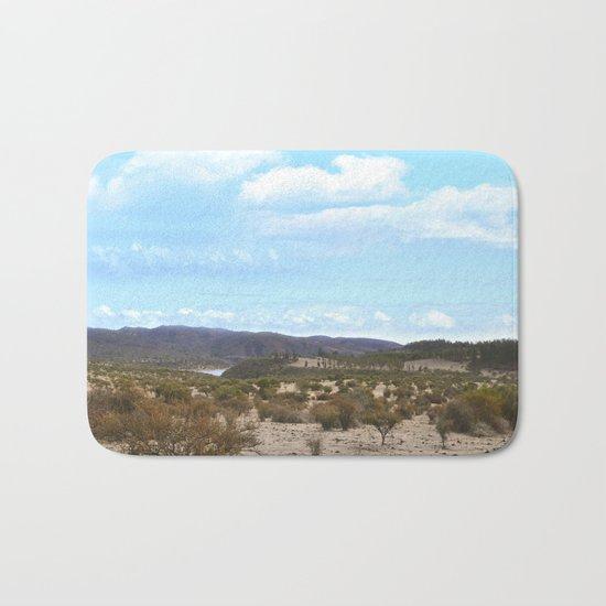 Landscape & Blue Sky Bath Mat