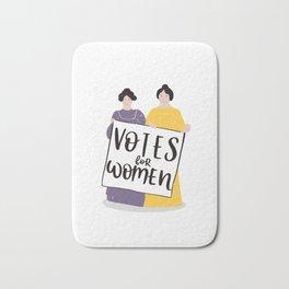 Votes for Women Bath Mat