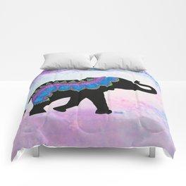 """Ahimsa"" - Patterned Elephant Comforters"
