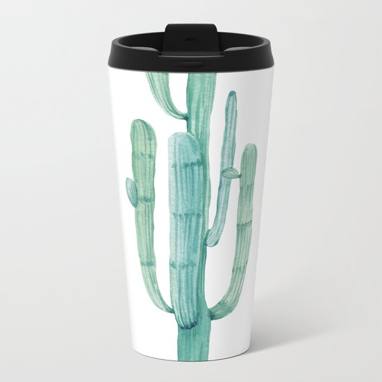 Cactus 1 Metal Travel Mug