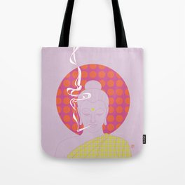 Buddha : Give Peace a Chance! (PopArtVersion) Tote Bag