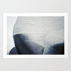 Experience Music Project + Silver Art Print