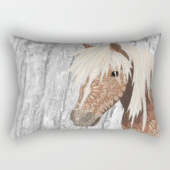 Haflinger Horse Rectangular Pillow
