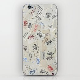 Vintage Postal Ephemera - Mr. Zip iPhone Skin