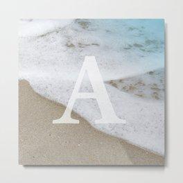 BEACH - A Metal Print