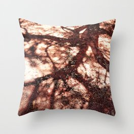 African Shadow Tree 3 Throw Pillow