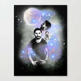 Three Shia Moon Canvas Print