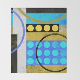Abstract Home Decor Wall Art I Throw Blanket