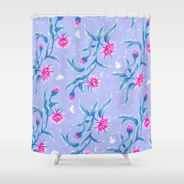 Queen of the Night - Mauve / Pink Shower Curtain