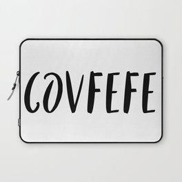 Covfefe in playful font Laptop Sleeve