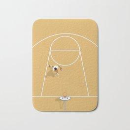 I just wanna play basketball Bath Mat