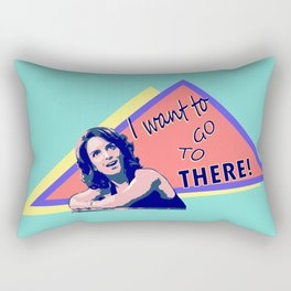 """""""I want to go to there!"""" (30 Rock) Rectangular Pillow"""