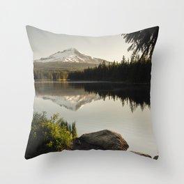 Trillium Mornings Throw Pillow