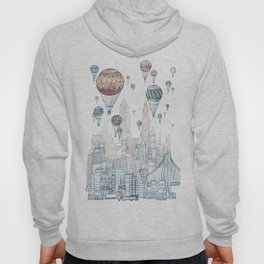 Voyages Over New York ~Refresh Hoody