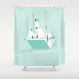 Sea of Knowledge Shower Curtain