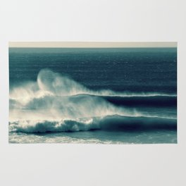 Offshore Waves Rug
