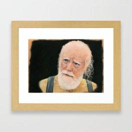 Hershel - Walking Dead Framed Art Print