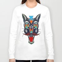 panther Long Sleeve T-shirts featuring panther by Ronan Holdsworth