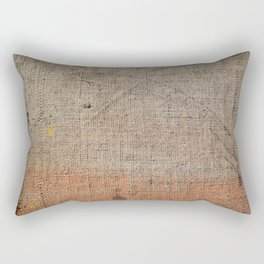 Vintage Material Rectangular Pillow