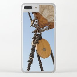 Clew of a Schooner Clear iPhone Case