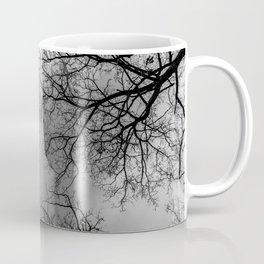 Grey sky, naked trees Coffee Mug