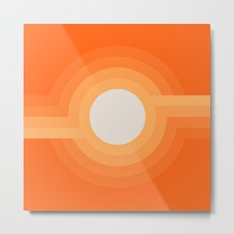 Moonspot - Creamsicle Metal Print