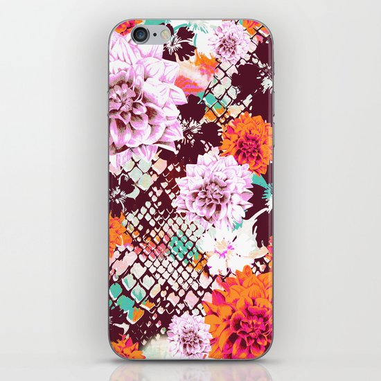 Croc Floral iPhone & iPod Skin