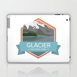 Glacier National Park Graphic Badge Laptop & iPad Skin