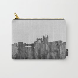 Bath, England Skyline - Navaho B&W Carry-All Pouch